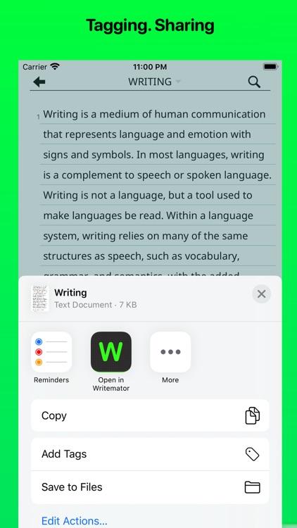 Writemator screenshot-5