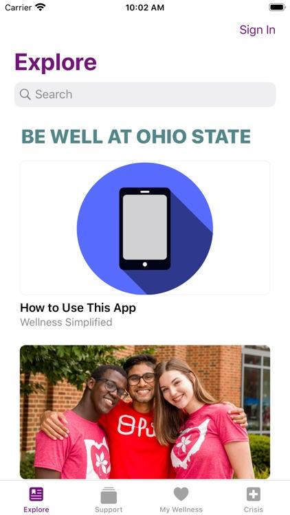 Ohio State: Wellness
