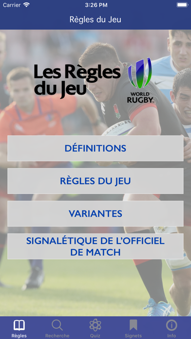 Screenshot for Règles du Jeu in Lebanon App Store