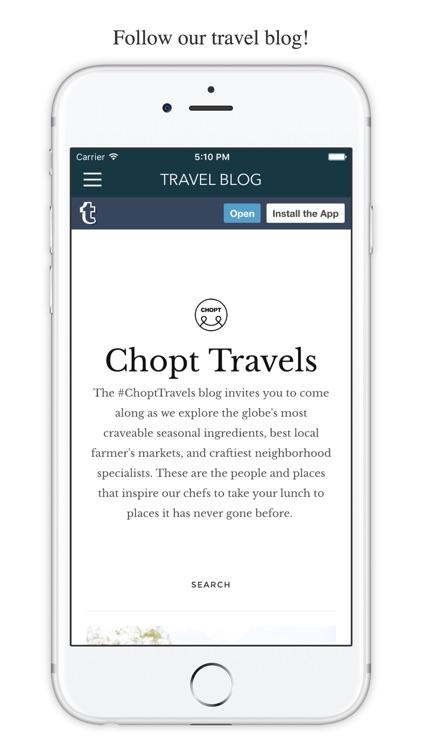 CHOPT screenshot-3