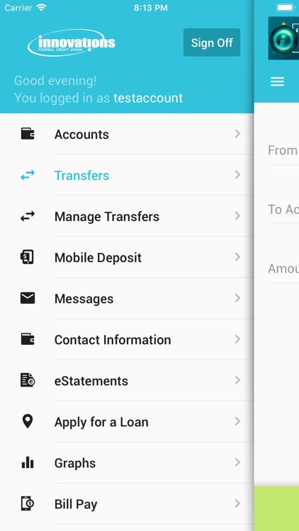 Innovations FCU Mobile Banking screenshot-3