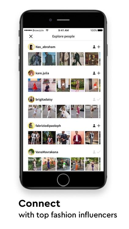 Browzzin - Social Fashion Shop screenshot-6