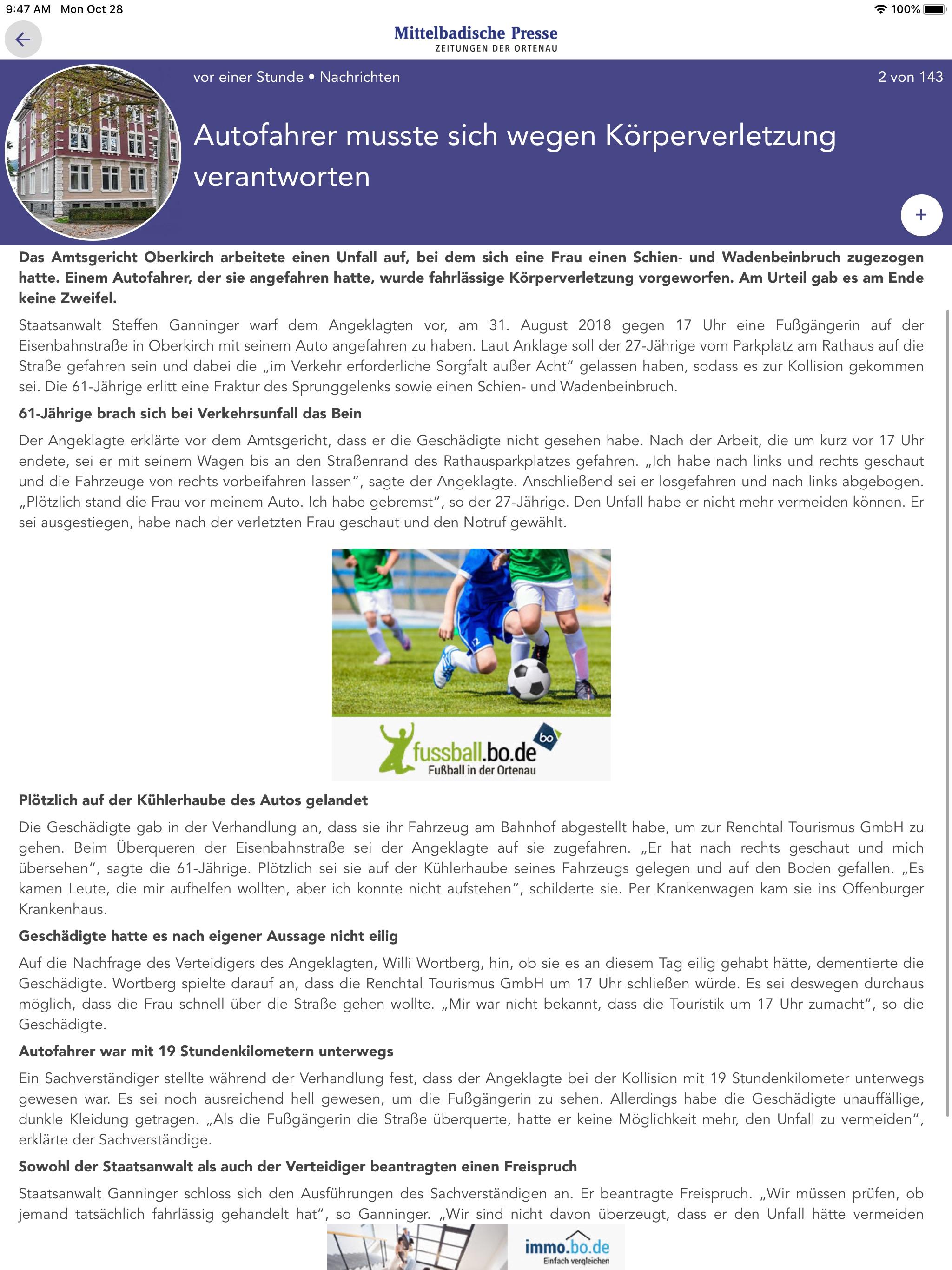 Acher Rench Zeitung Online