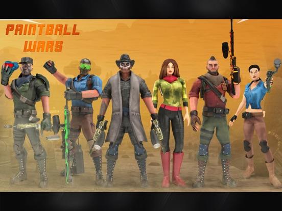 Paintball Shooting Games 3D screenshot 9