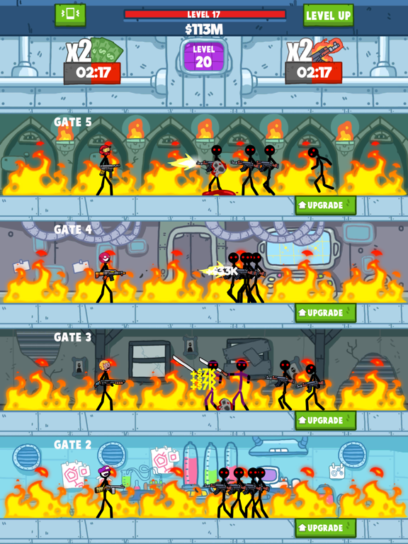 Idle Stickman screenshot 6