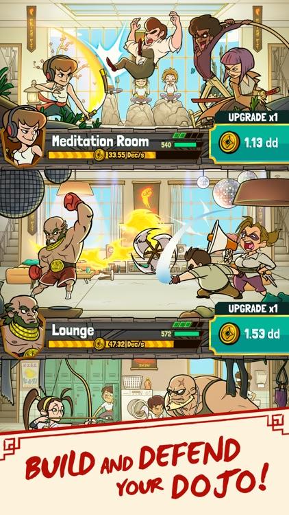 Kung Fu Clicker: Idle Dojo screenshot-0