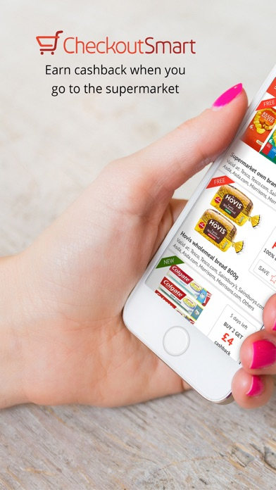 CheckoutSmart Grocery Cashback