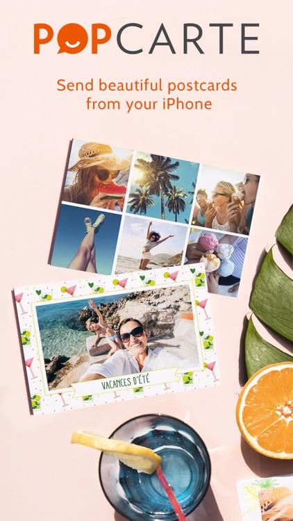 Popcarte -Send real postcards screenshot-0