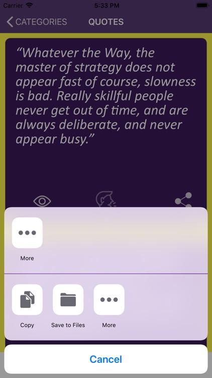 Miyamoto Musashi's Wisdom screenshot-6