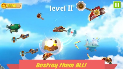 Sky Wars: Battle Robots Screenshot on iOS