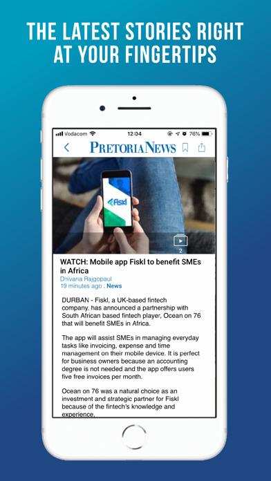 Pretoria News SA screenshot one