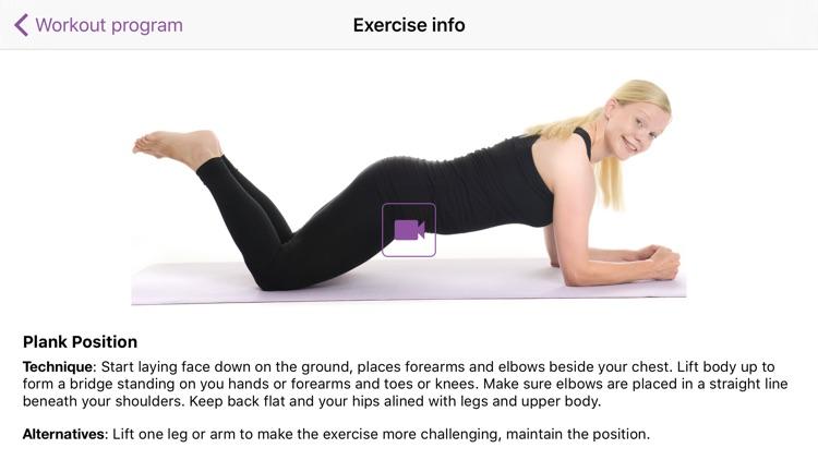 Body weight workouts screenshot-4