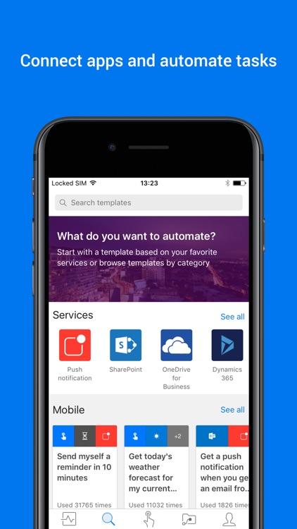 Microsoft Flow screenshot-0