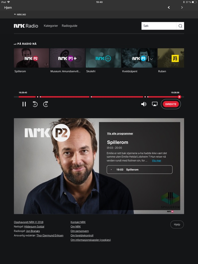 nrk radio p2