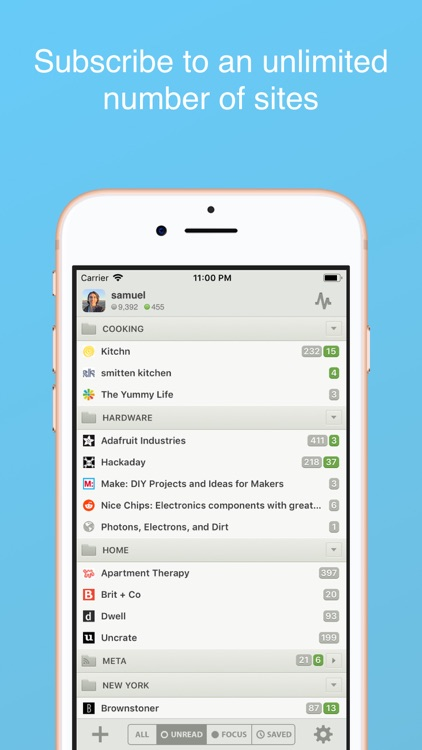 NewsBlur screenshot-0