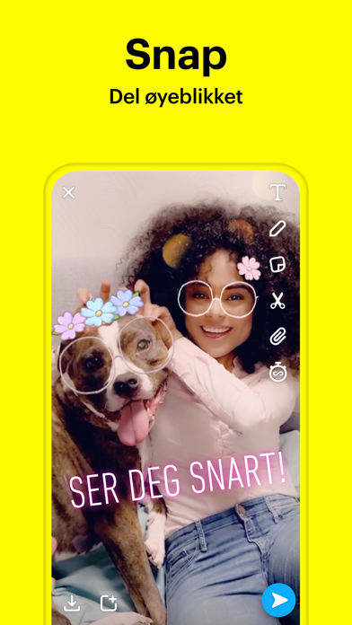 Screenshot for Snapchat in Norway App Store