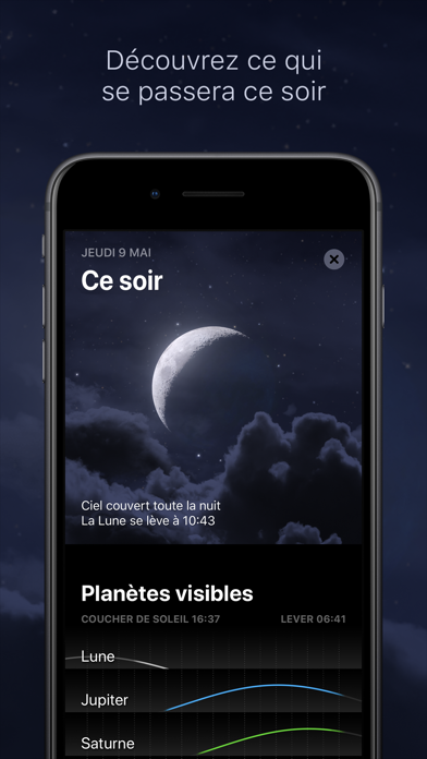 Screenshot for Sky Guide in France App Store