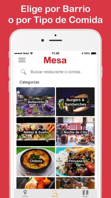 Mesa screenshot-3