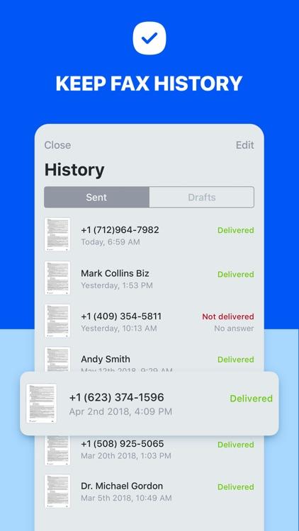 Fax It: Faxing App screenshot-3