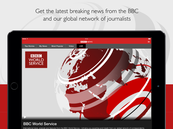 BBC News screenshot