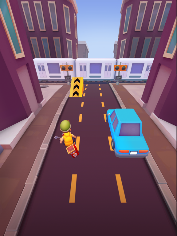 Deliveryman: Motorcycle Racing screenshot 5