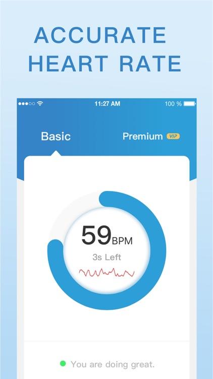 Heart Rate Monitor, Health App screenshot-5
