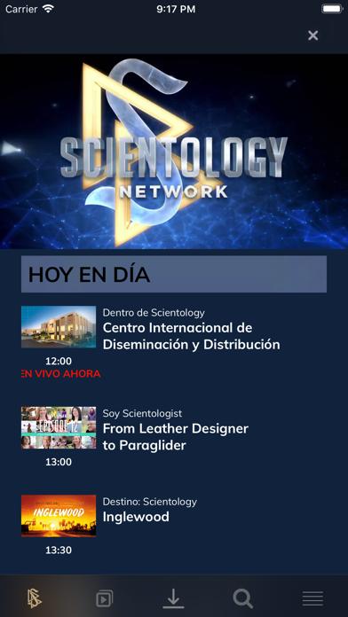 Scientology NetworkCaptura de pantalla de2