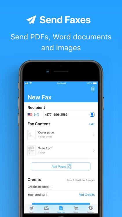 JotNot Fax - Send Receive Fax screenshot-3