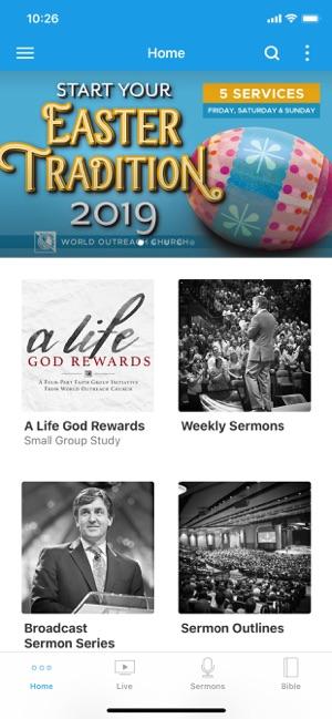 World Outreach Church on the App Store