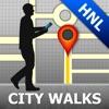 Honolulu Map & Walks (F)