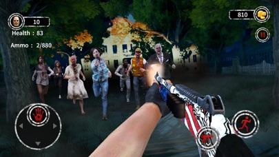 Dark City Zombie Shooting 3D screenshot 1