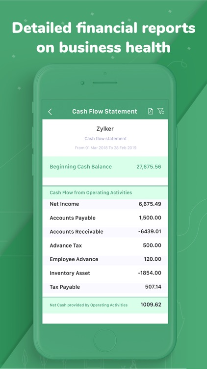 Accounting app - Zoho Books screenshot-3