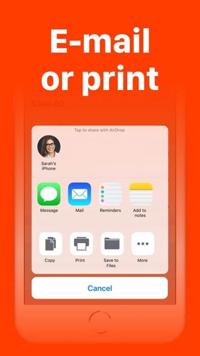 Invoice Maker App 2.0 Screenshot