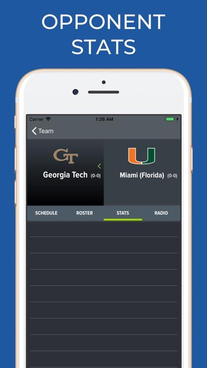 Miami Hurricanes Football screenshot-7