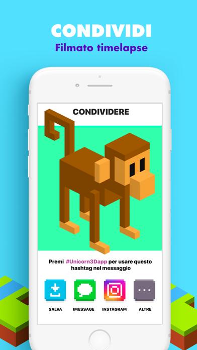 Screenshot of UNICORN 3D: Giochi da colorare5