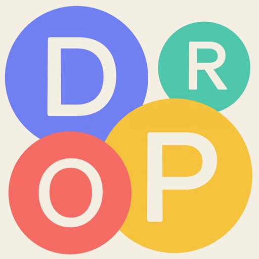 Letter Drop Word Puzzle Game