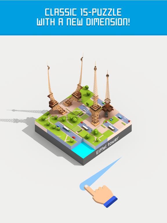 Fifteen: 3D & AR 15 puzzle screenshot 7