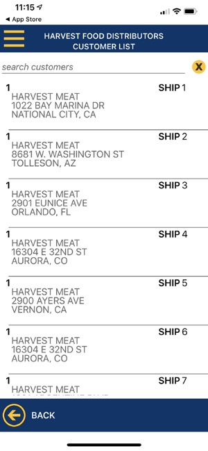 Harvest Food Distributors on the App Store