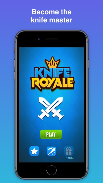 Knife Throw Royale: Hit Game