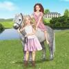 Pony und Reiter Anziehspass