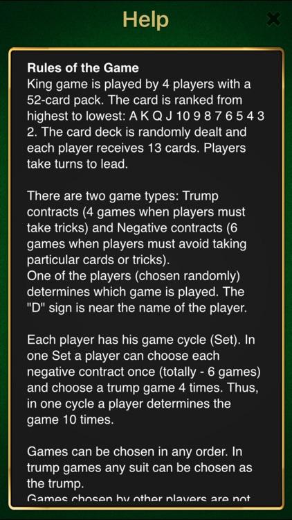 King - Classic card game screenshot-3
