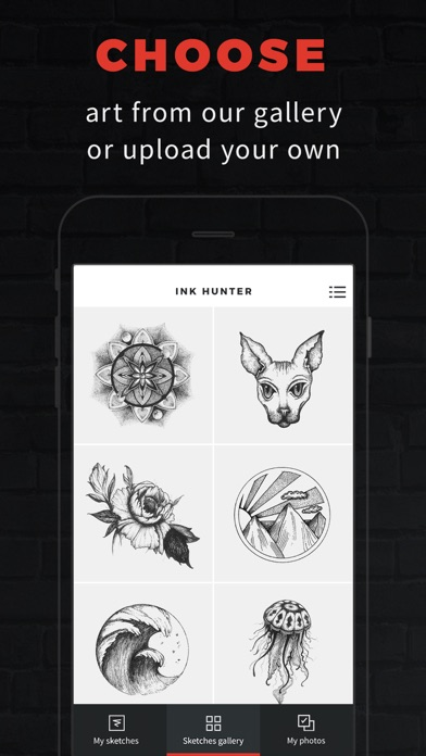 Screenshot for INKHUNTER Try Tattoo Designs in Canada App Store