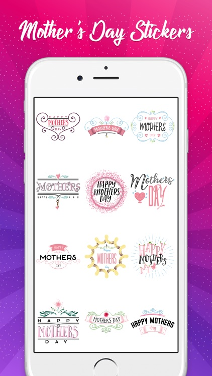 Mother's Day Sticker Pack!