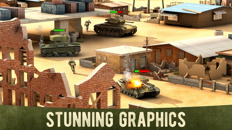 War Machines: 3D Tank Game screenshot-3