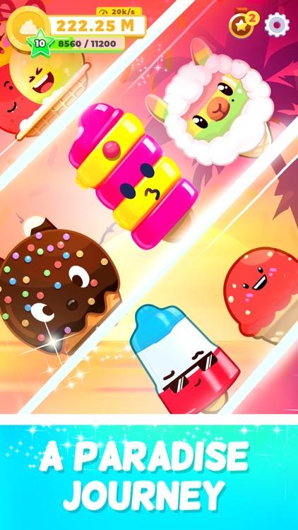Ice Cream idle: Merge games! screenshot-4