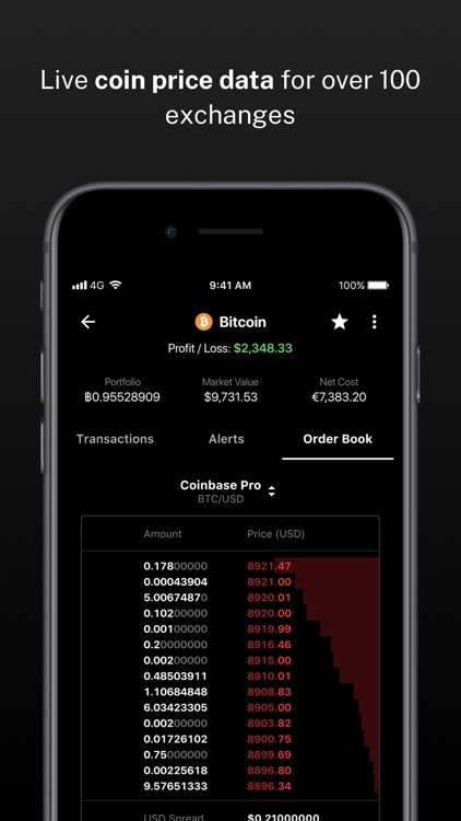 Delta Bitcoin & Crypto Tracker screenshot-7