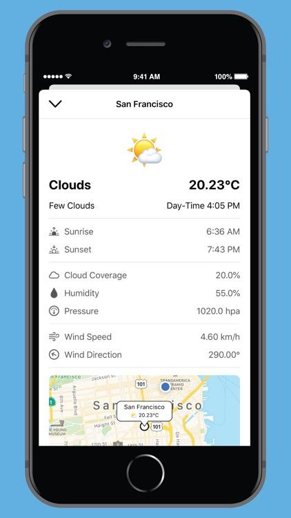 NearbyWeather screenshot-3