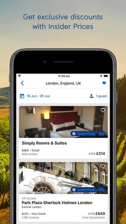 ebookers Hotels & Flights screenshot-7