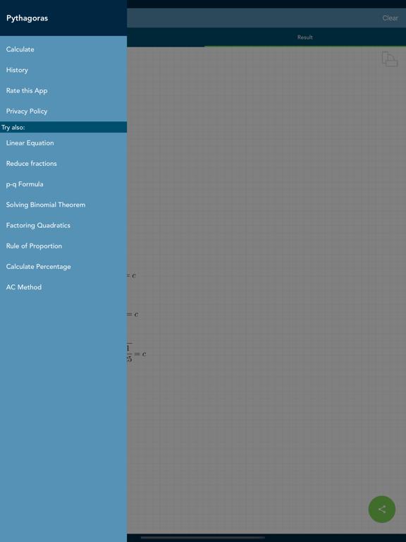 Solving Pythagoras PRO Screenshots