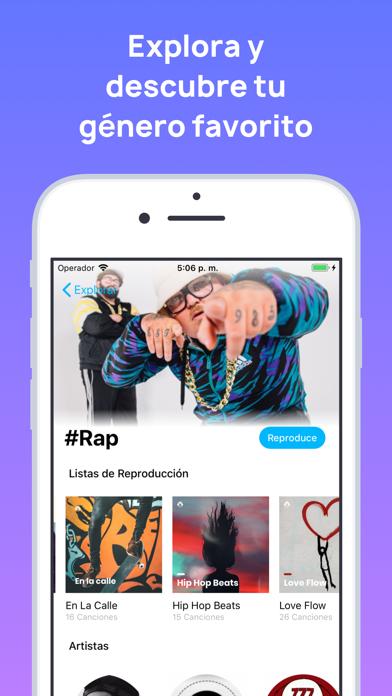 Screenshot for MonkingMe Descargar Música in Mexico App Store